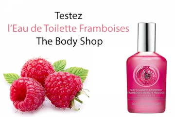 Eau de Toilette Framboise The Body Shop à tester