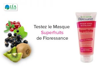 Masque Visage Revitalisant aux Superfruits