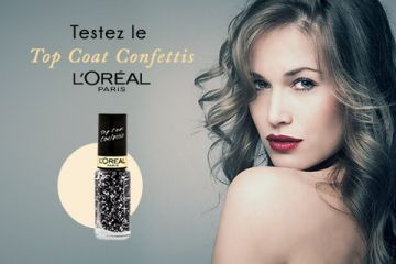Top Coat Confetti de L'Oréal Paris