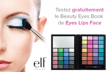 Testez le Beauty Eyes Book de e.l.f