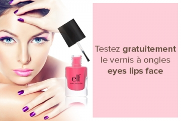 Vernis à ongles eyes lips face
