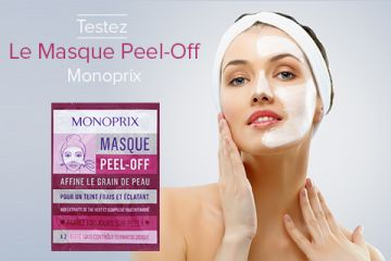 Masque Peel-Off Monoprix