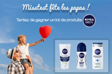 Lot de 3 produits NIVEA MEN