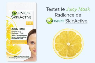Juicy Mask SkinActive de Garnier