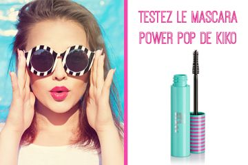 Mascara Power Pop de KIKO