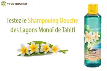 Shampooing Douche des Lagons Yves Rocher