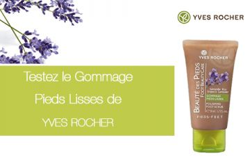 Gommage Pieds Lisses Yves Rocher